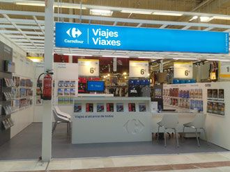 Agencia viaje Viajes Carrefour A Coruña 1