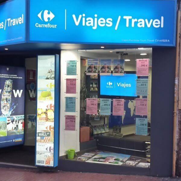 agencia viaje viajes carrefour benidorm 1