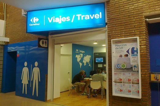 agencia viaje viajes carrefour finestrat