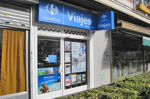 agencia viaje viajes carrefour madrid valle inclan 38