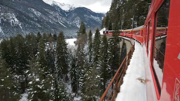tren suiza