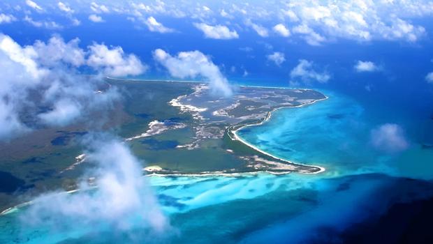 Riviera Maya vista aérea