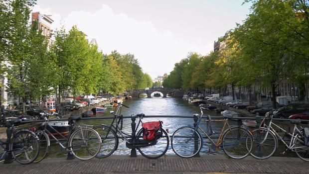 amsterdam en bici