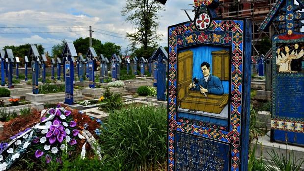 Cementerio en Transilvania