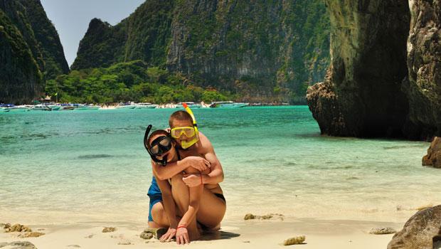 Pareja en Tailandia