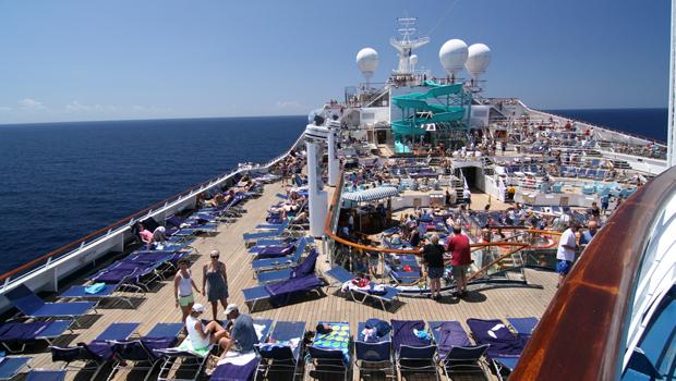 Actividades en el crucero