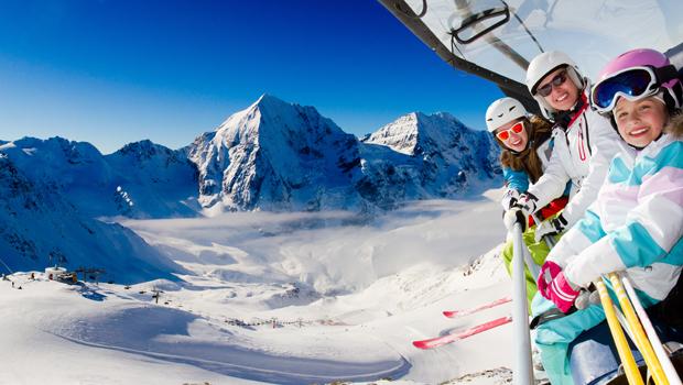 Esquiar en los Alpes franceses