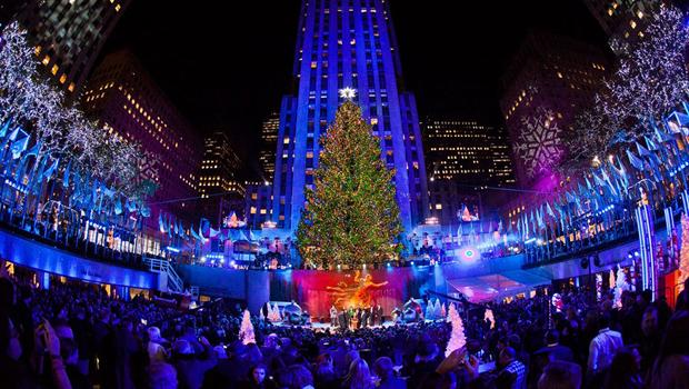 Encendido del árbol de Navidad