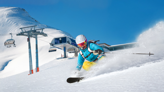 estación de esquí suiza