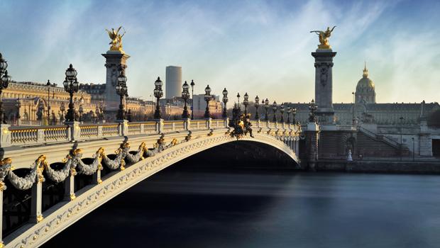 Fin de semana en París, Paseo por París