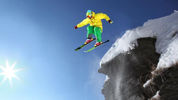 esquiador avanzado