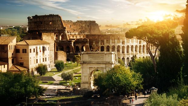 2 días en Roma, Coliseo