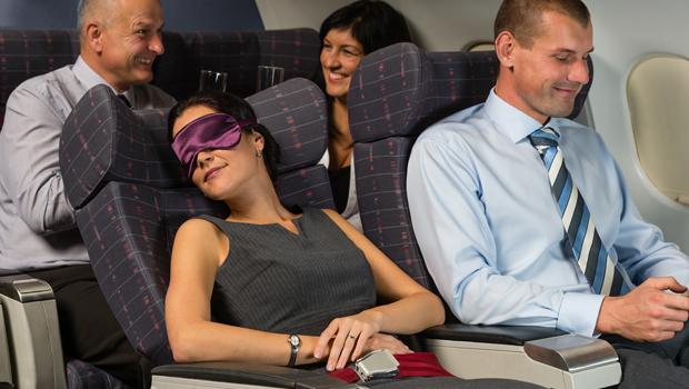 Descansar avión