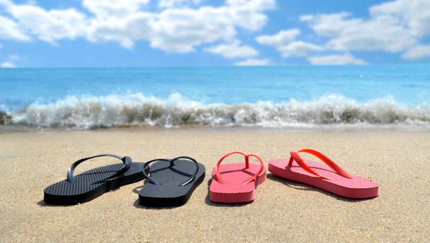 calzado playa