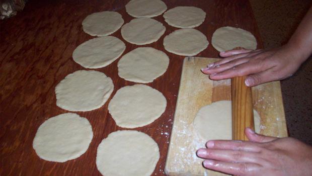 Tortillas conharina de legumbres