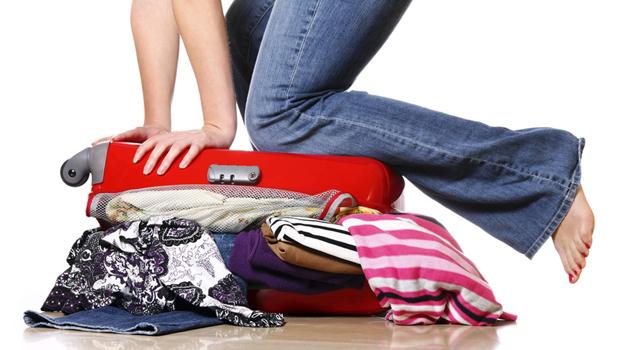 equipaje para ir a una ciudad