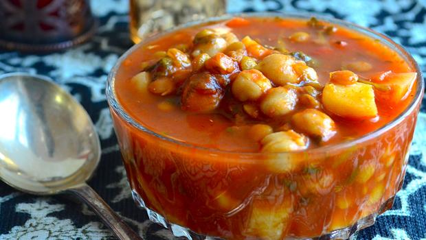 receta árabe harira