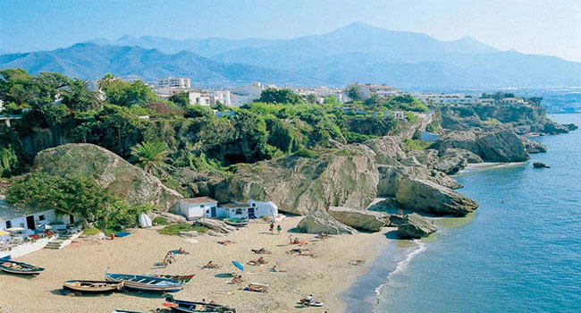 Costa Andaluza, Nerja pueblo andaluz