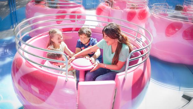 Parques de atracciones con niños