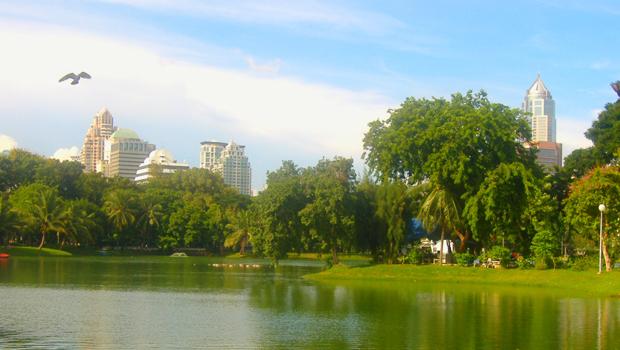 parque de Bangkok Lumphini