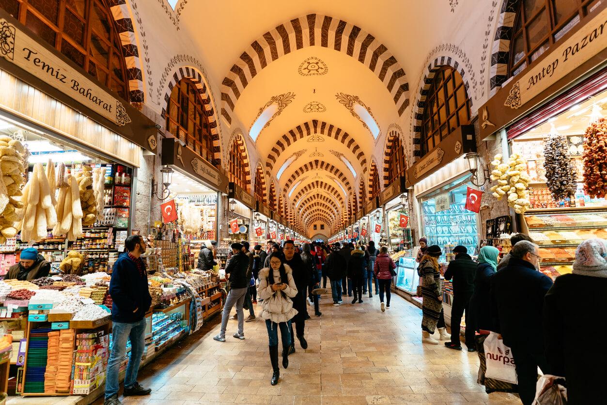 Mısır Çarşısı - Istanbul de Bazar Egipcio 'Spice'