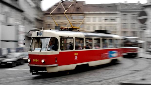 Moverse por Praga