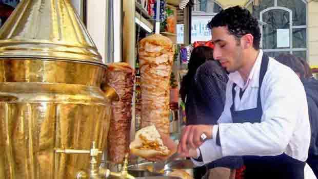 kebab de turquia