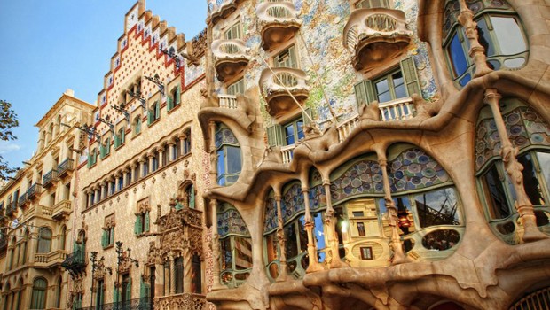 Gaudi en Barcelona