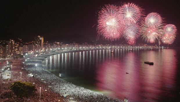 Fuegos Artificiales Río de Janeiro
