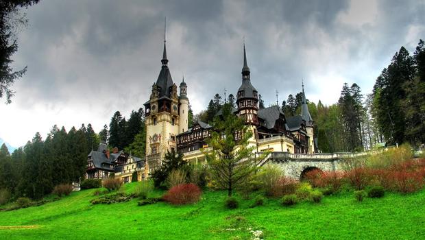 castillo en Rumanía