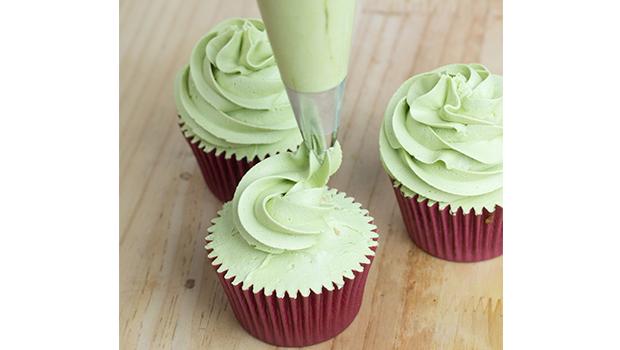 cupcake té verde