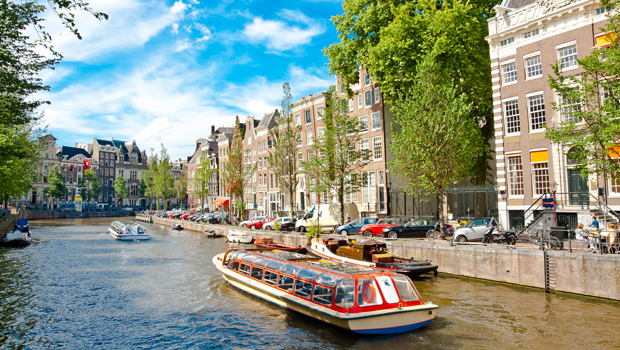 Los canales de Ámsterdam