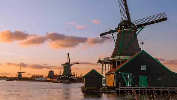 Conocer Amsterdam, Molinos holandeses