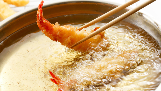 Preparación tempura