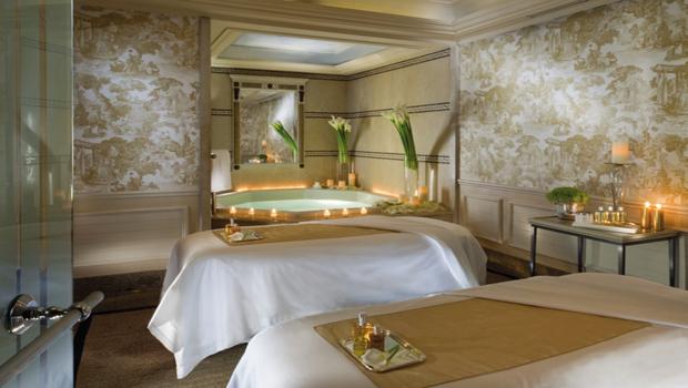 habitación El Spa del Four Season Hotel George V