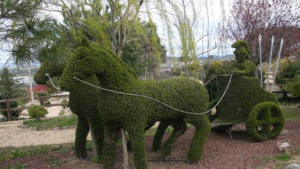 Escultura vegetal PLOM Gallery
