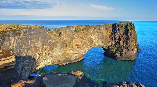Cabo de Dyrhólaey, Islandia