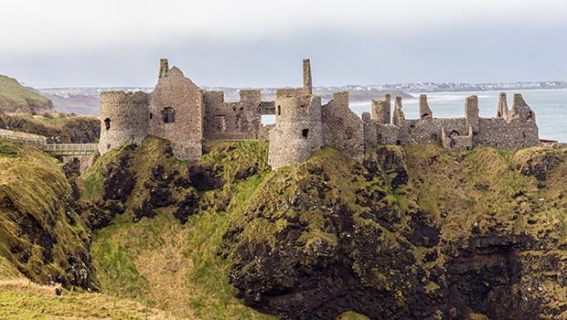 Ruinas del castillo Dunluce