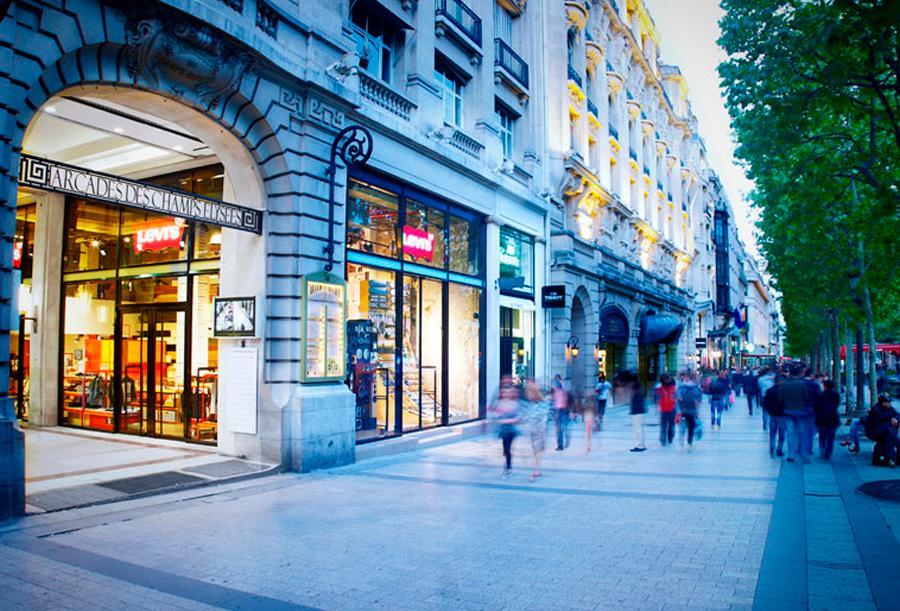 tiendas de París en rebajas