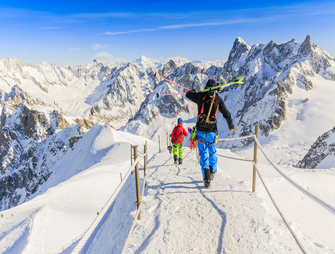 Viajes esqui invierno nieve