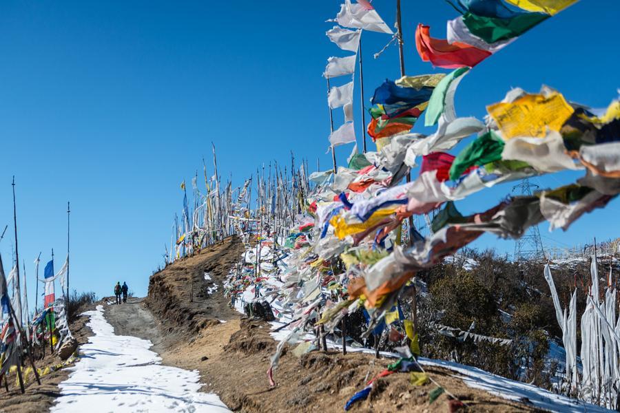 Rutas de senderismo en Bután.