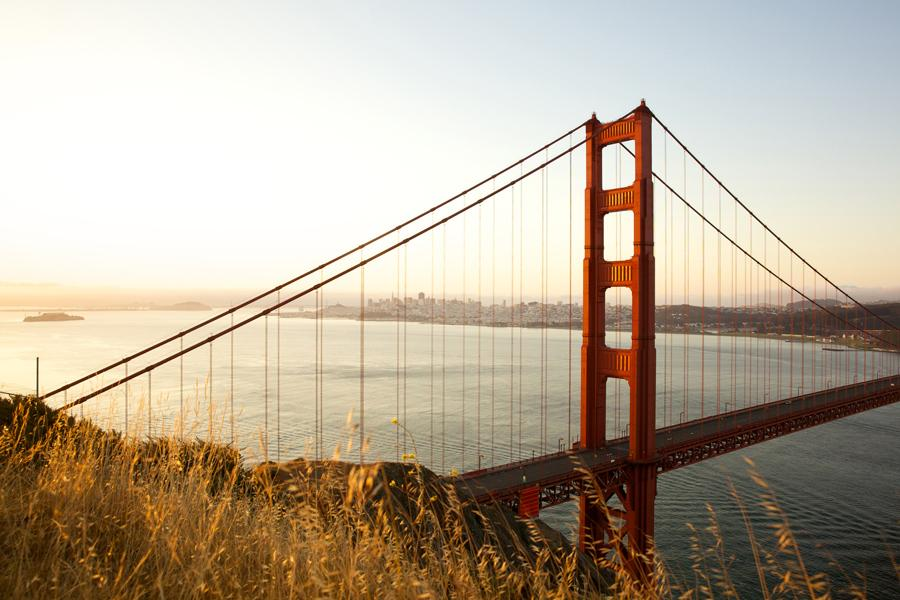 Golden Gate Bridge en San Francisco. Foto: San Francisco Travel