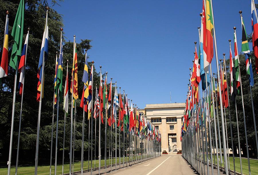 Palacio naciones unidas
