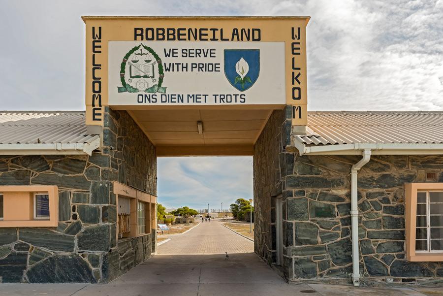 Robben Island, la prisión donde Nelson Mandela estuvo encarcelado. Foto: Mark52 / Shutterstock.com
