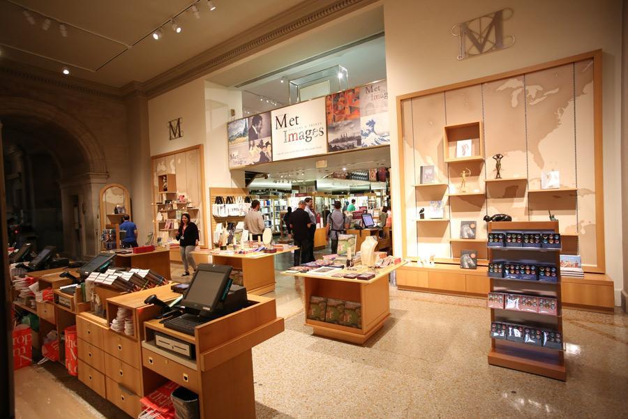 Tienda del Museo Metropolitano de Nueva York. Foto: a katz / Shutterstock.com