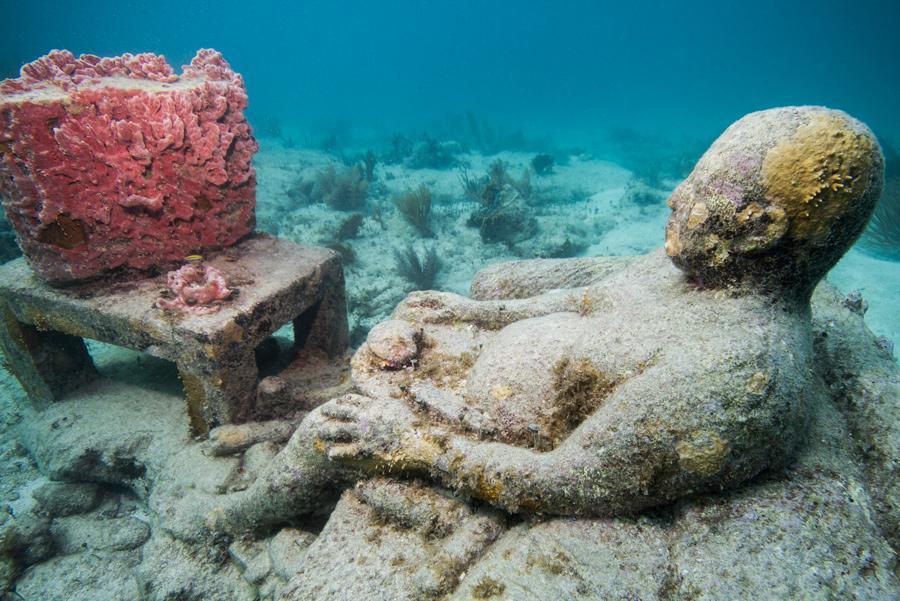 5. Ocean Atlas, en las Bahamas. Foto: Jason deCaires Taylor/ CACT Lanzarote.