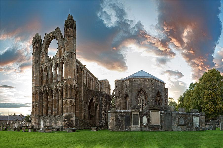 Catedral de Elgin, Condado de Moray