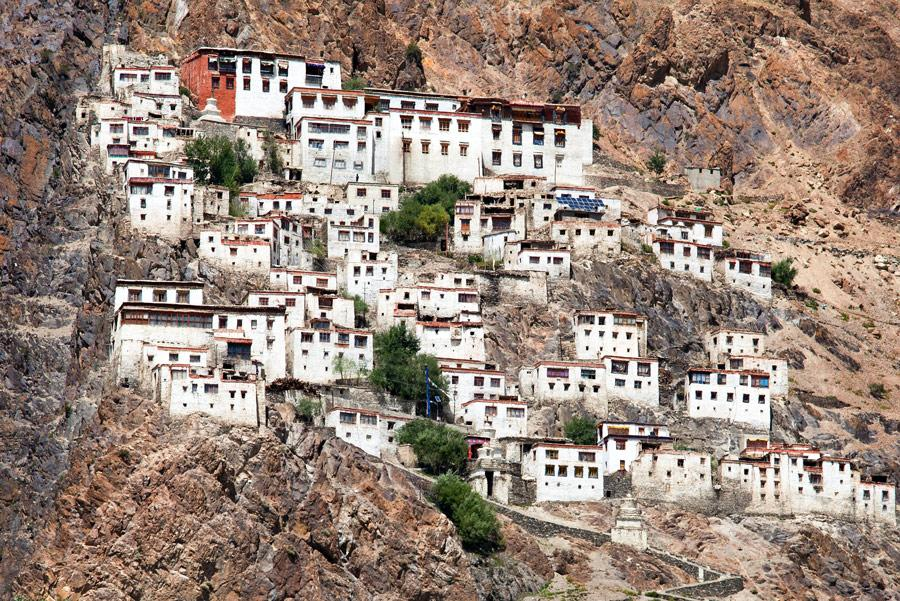 Monasterio budista Karsha Gompa