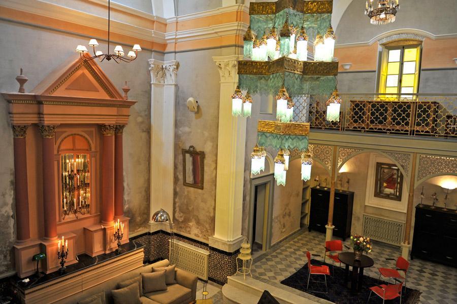 Hotel L'Iglesia, El Jadida, Marruecos.