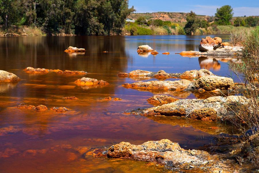 Río Tinto, de color rojizo por los minerales. Autor:Olha Rohulya / Shutterstock